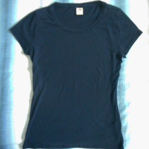 Hollister T-Shirt, Size M, Navy Blue